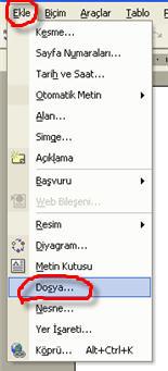 Microsoft Word - Ekle Dosya