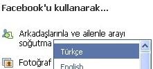 Facebook Türkçe