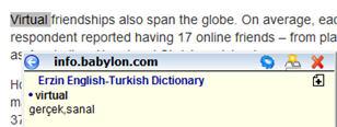Firefox İngilice - Türkçe