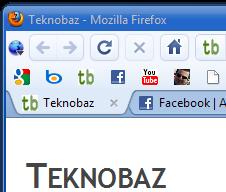 Firefox Chrome Görünümü