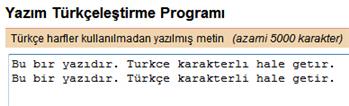 [teknobaz] türkçe karakter çevir