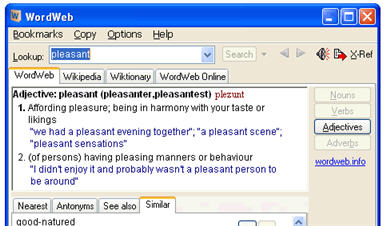 wordweb sözlük