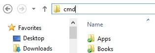 Windows Explorer Adres Satırında Komutları Çalıştır