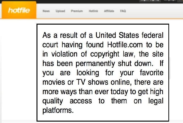 Hotfile.com Neden Kullanılmıyor, Kapandı?