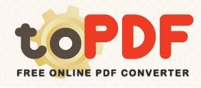 toPDF-PDF Çevirici İnternet Sitesi