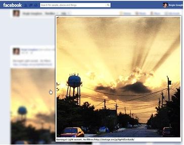 Facebook Fotoğraflarını Otomatik Büyüt [Chrome Eklenti]