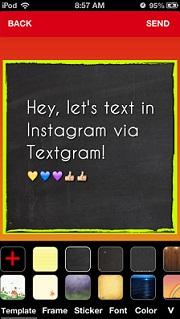 Textgram-Instagram'da Yazıları Fotoğraf Olarak Paylaş [iphone Uygulaması]