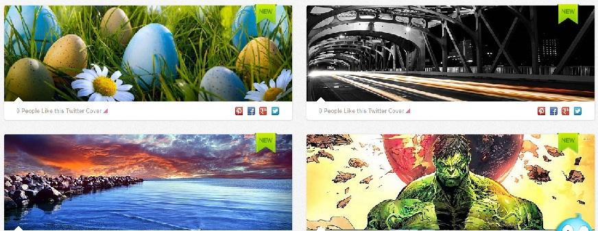Twitter Profil Sayfanız İçin Resim Bulabileceğiniz 3 İnternet Sitesi