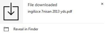 Download Notifier -Download'ın Bittiğini Gösteren Hatırlatıcı [Chrome Eklenti]