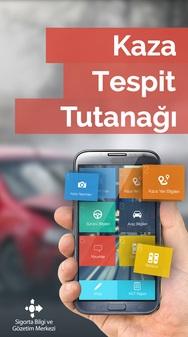 Cep Telefonundan Mobil Kaza Tespit Tutanağı Doldur