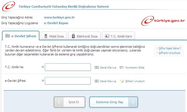 [Teknobaz] e-devlet şifre