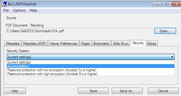 PDF Dosyaların Şifrelerini Kaldırma, Kırma Programı Kullan