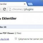 Google Chrome:PDF Dosyalarını Görüntülemeden Kayıt Edin