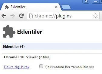 [Teknobaz] Chrome PDF Sakla