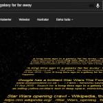 Google Star Wars Güç Uyanıyor Filmi Gizli Özelliğini Gör
