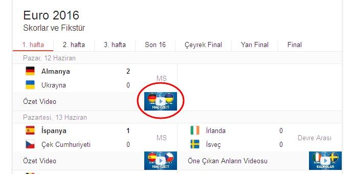 [Teknobaz] Euro 2016 golleri izle