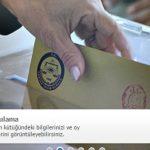Referandum Oy Kullanma Yeri Öğrenme -16 Nisan 2017