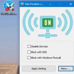 Net Disabler – İnternet Bağlantısını İstediğin Zaman Kes [İndir]