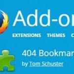 Yer İmlerindeki (Bookmark) Ölü Linkleri Bul Kaldır [Firefox Eklenti]