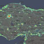 Dünya ve Türkiye Işık Kirliliği Haritası