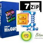 WinZip, WinRAR Benzeri 5 Adet Bedava Sıkıştırma Programı [İndir]