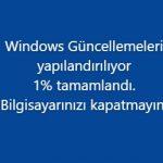 Bilgisayarında Sahte Windows Güncelleniyor Ekranı Görünsün Şakası