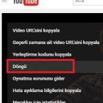 YouTube Videolarını Otomatik Olarak Tekrar Tekrar İzle, Dinle