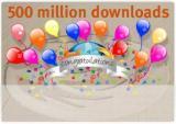 Firefox 500 milyon